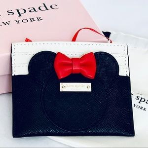 Kate Spade Minnie Mouse Card holder Case Wallet